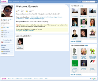 Orkut with a newlook