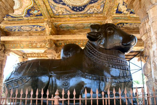 thanjore nandi brahadeeswarar temple