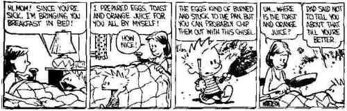 Calvin- The cook